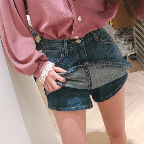 巨大的裙子裤子<br> <font color='gray'>蓝色S单独订购当天发货</font>