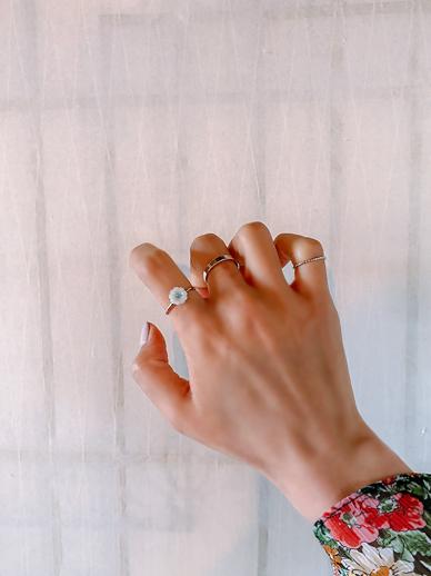 标题,戒指[套装]