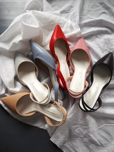 コマン露足后跟鞋,鞋