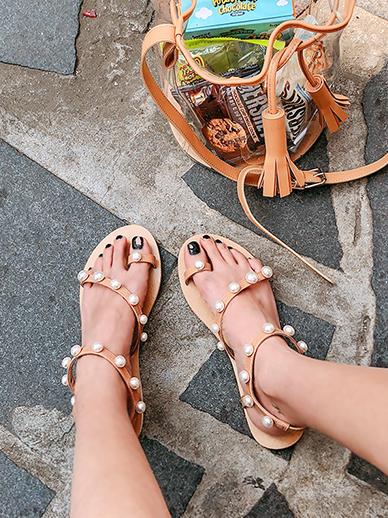 珍珠水彩,鞋鞋