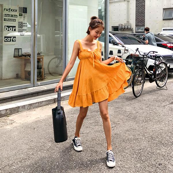 这么多minimi,连衣裙