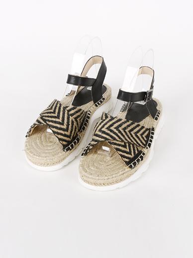 [出售] Zig Zag,凉鞋(适合鞋子M 235〜240)