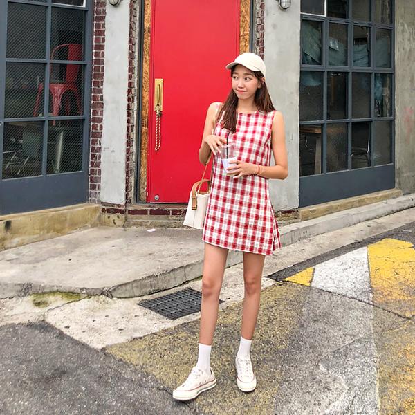 [LOVE LINE] Sik Tumi,连衣裙(ver。 <br> <font color='gray'>单独订购当天发货</font>