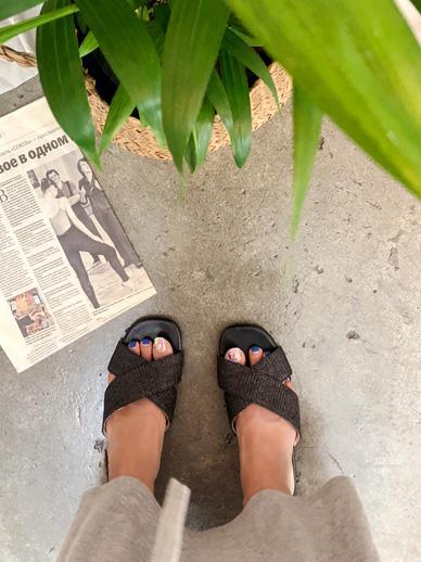 Oranje,鞋子