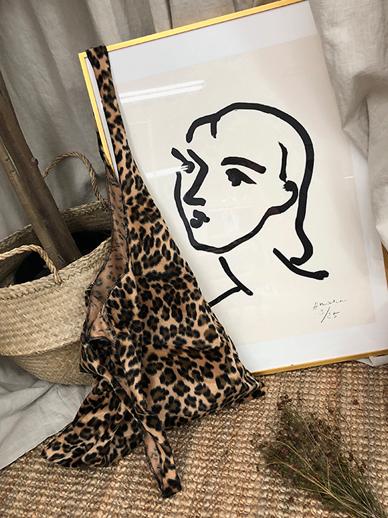 Something豹纹,环保袋