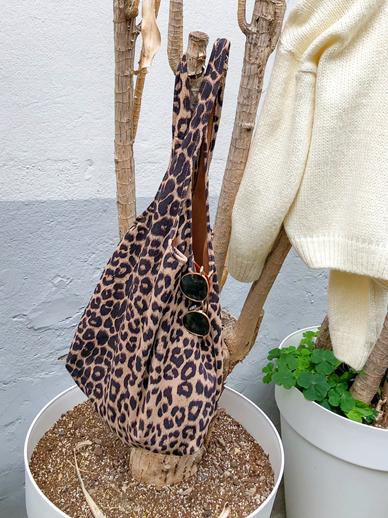 作曲家豹纹,环保袋