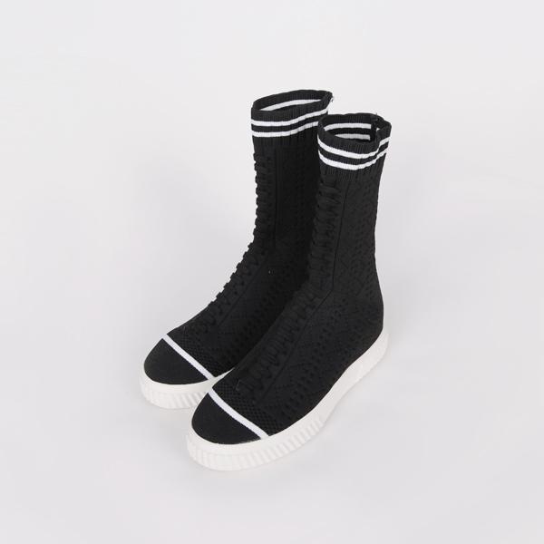 [SALE]高针织,胶底帆布鞋(Fitting Shoes M(235~240))