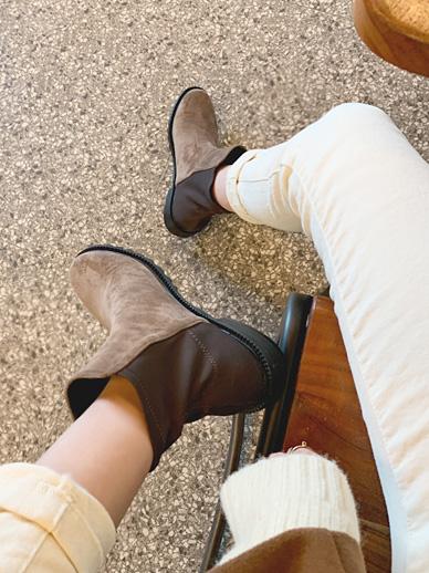半形,短鞋