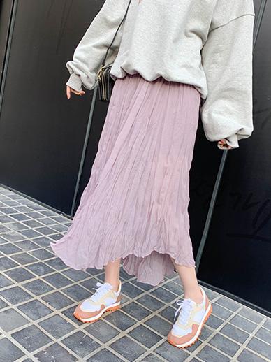 鼠尾草,裙子<br> <font color='gray'>当单独订购紫色时,当天发货</font>