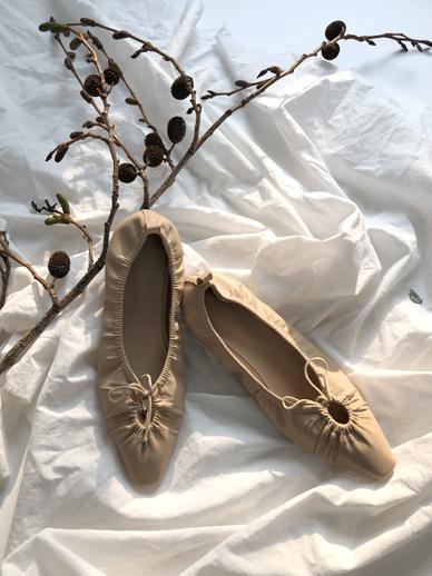 圆领Winkle,素色鞋