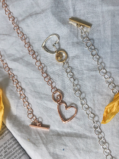 爱心到爱心,项链